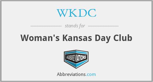 WKDC - Woman's Kansas Day Club