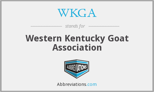 WKGA - Western Kentucky Goat Association