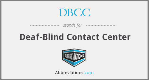 DBCC - Deaf-Blind Contact Center