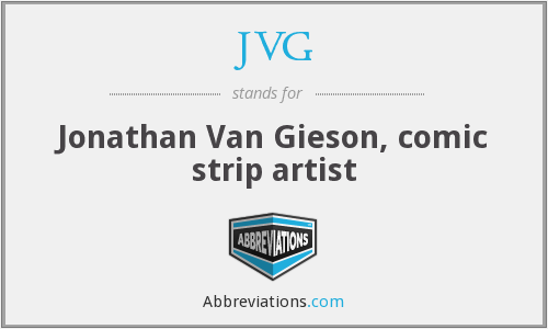 What does JVG stand for?