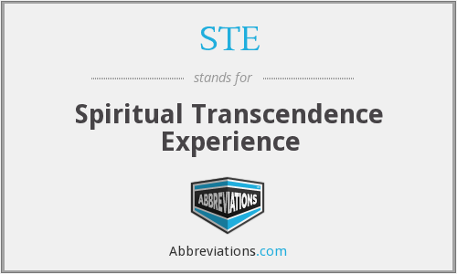 What does transcendence stand for?