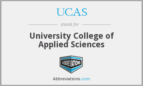 UCAS - University College of Applied Sciences
