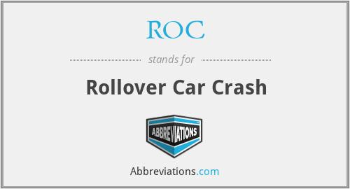 ROC - Rollover Car Crash
