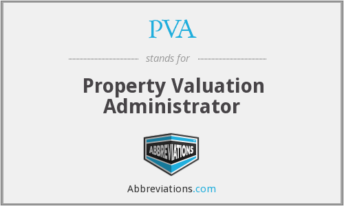 PVA - Property Valuation Administrator