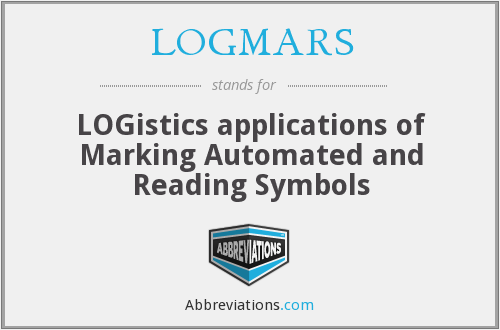 LOGMARS - LOGistics applications of Marking Automated and Reading Symbols