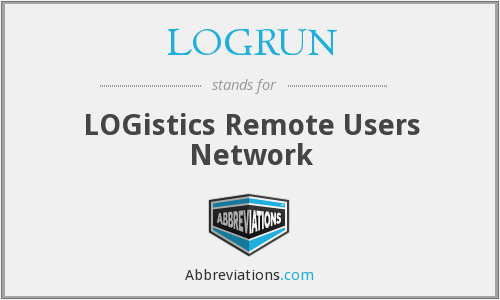 What does LOGRUN stand for?