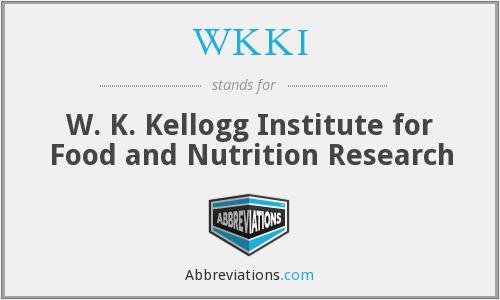 What does WKKI stand for?