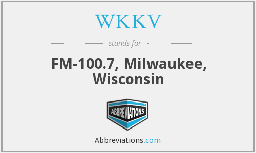 What does WKKV stand for?