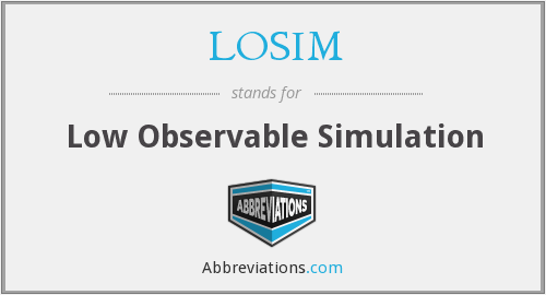 What does LOSIM stand for?