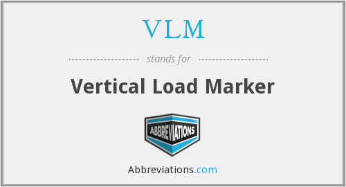 VLM - Vertical Load Marker