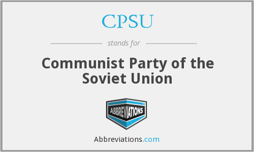 What does CPSU stand for?