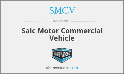 What does SMCV stand for?