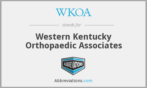 What does WKOA stand for?