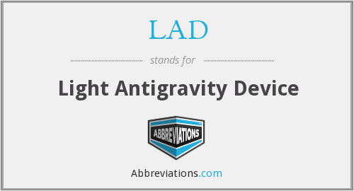 LAD - Light Antigravity Device