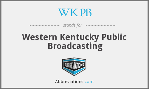 What does WKPB stand for?
