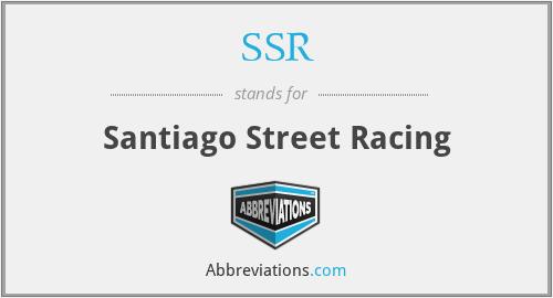SSR - Santiago Street Racing