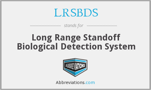 What does LRSBDS stand for?
