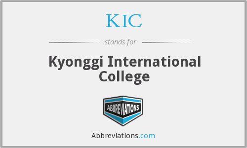 KIC - Kyonggi International College
