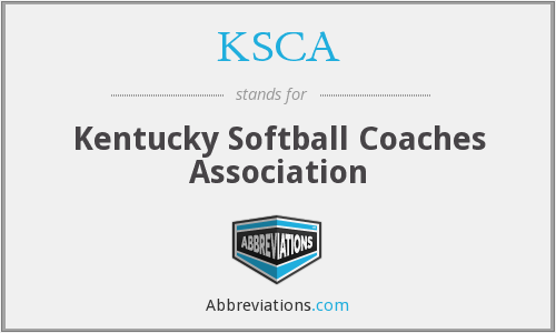 What does KSCA stand for?