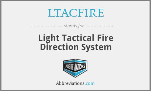 LTACFIRE - Light Tactical Fire Direction System