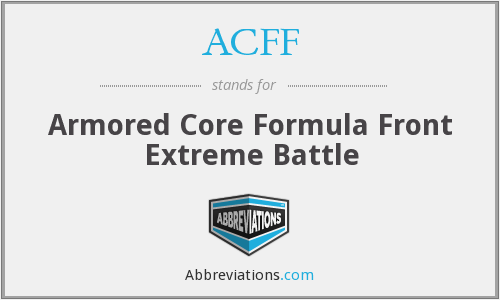 ACFF - Armored Core Formula Front Extreme Battle