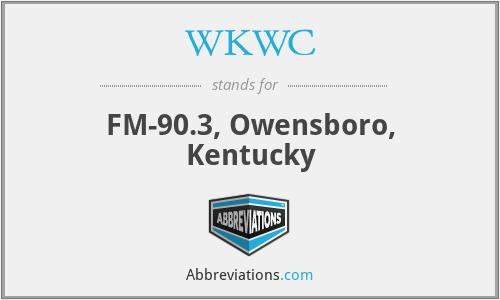 WKWC - FM-90.3, Owensboro, Kentucky
