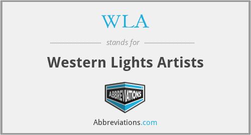 WLA - Western Lights Artists