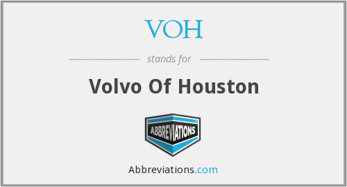 VOH - Volvo Of Houston