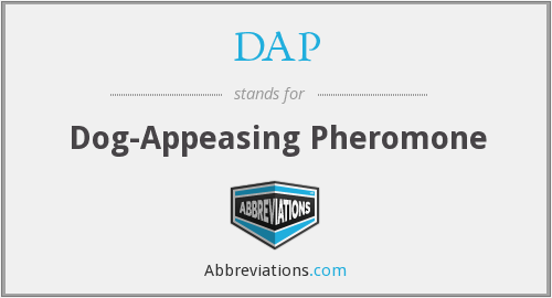 DAP - Dog-Appeasing Pheromone