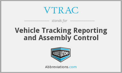 What does VTRAC stand for?