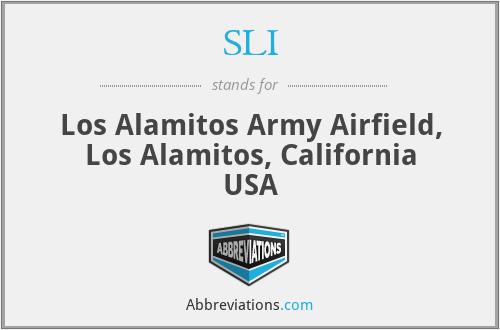 SLI - Los Alamitos Army Airfield, Los Alamitos, California USA