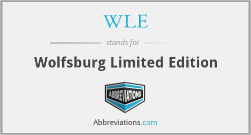 WLE - Wolfsburg Limited Edition