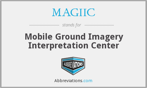 What does MAGIIC stand for?