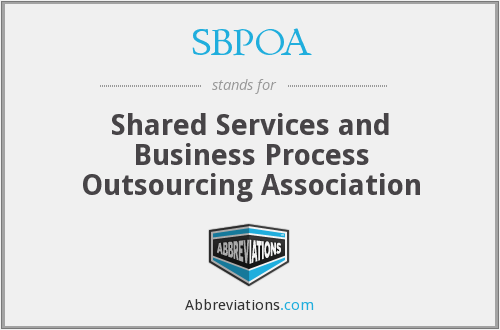 What does SBPOA stand for?