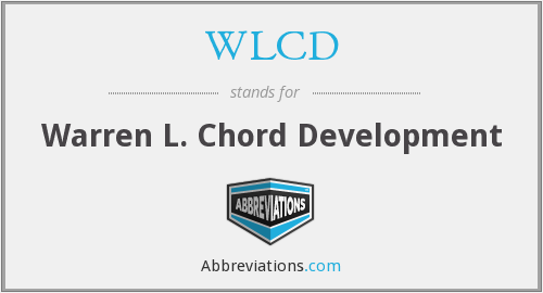 What does WLCD stand for?