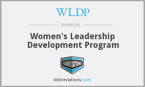 WLDP - Women's Leadership Development Program