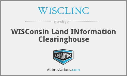 What does WISCLINC stand for?