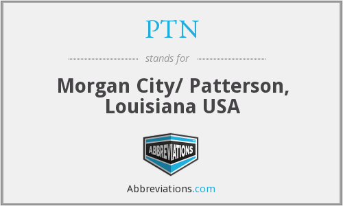 PTN - Morgan City/ Patterson, Louisiana USA