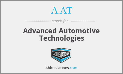 AAT - Advanced Automotive Technologies