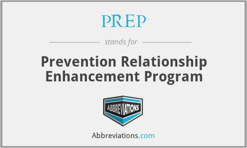 PREP - Prevention Relationship Enhancement Program