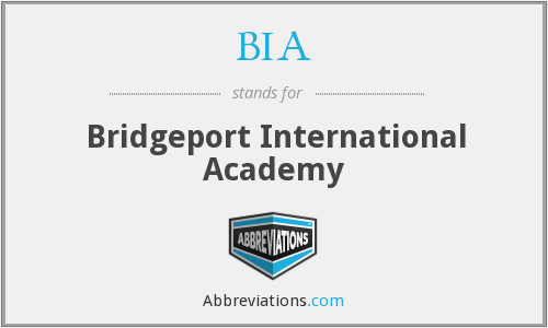 BIA - Bridgeport International Academy