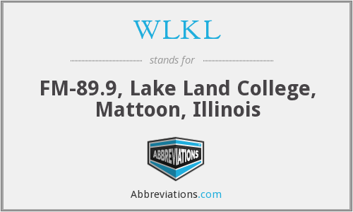WLKL - FM-89.9, Lake Land College, Mattoon, Illinois