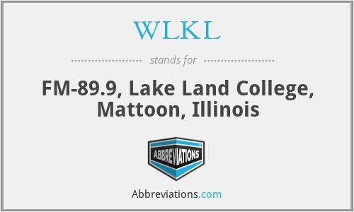 WLKL - FM-89.9, Lake Land College, Mattoon, Illinois
