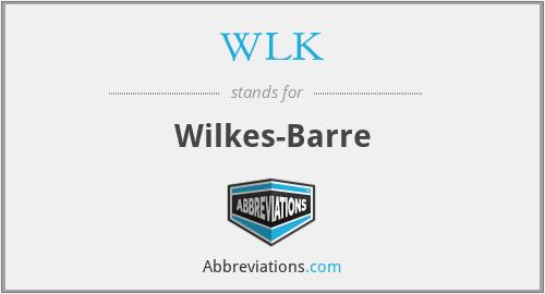 WLK - Wilkes-Barre