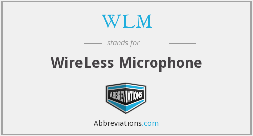 WLM - WireLess Microphone