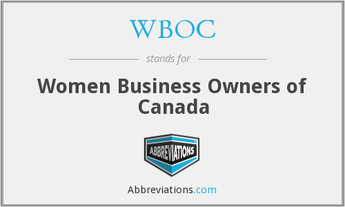 WBOC - Women Business Owners of Canada
