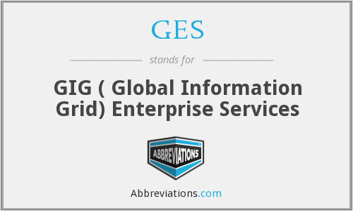 GES - GIG ( Global Information Grid) Enterprise Services