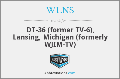 What does WLNS stand for?