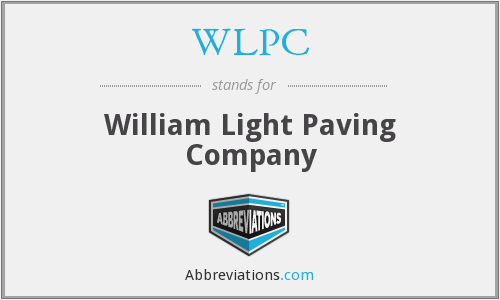 What does WLPC stand for?