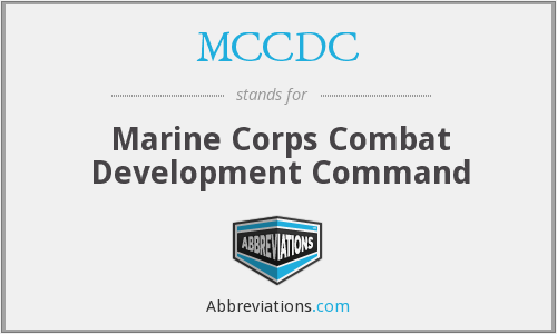 What does MCCDC stand for?